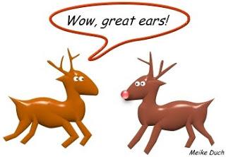 compliment reindeer