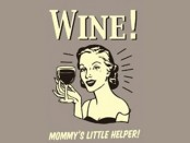 wine - mommys little helper