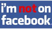 Ikke på facebook ... i hvert fald for en uge.